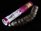 De Zwarte Shuttle van uitstekende kwaliteit van het Badminton van de Veer van de Gans voor Spel