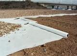 Geotêxtil não tecido perfurado agulha com material recuperado
