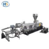 Doppio macchina di granulazione dell'espulsione tagliata della vite fronte caldo di plastica