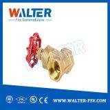 Novo design de elevada qualidade da água de latão válvula gaveta de haste