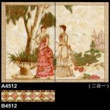 A4507 ha lustrato il disegno delle mattonelle della stanza da bagno della parete