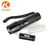 Taschenlampe der Fabrik-GroßhandelsLeistungs-nachladbare Aluminiumlegierung-LED
