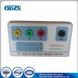 Peso ligero Medidor de secuencia de fase de alta tensión