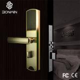 Deslize a placa RF um graminho fechadura da porta de alarme para o Hotel