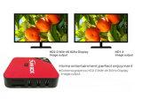 De goedkope Hete E6 Doos van TV van de Kern IPTV van de Vierling van Rk3229