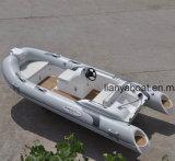 4.3M Liya Semi-Rigid PVC barco inflável de casco simples sobre a venda