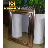 Keenhai modificó el acero para requisitos particulares inoxidable adorna el marco del espejo