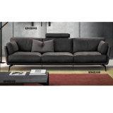 実質の革ソファーが付いている居間の家具の現代ソファー
