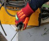 Lichtbogen-Blitz beständiger TPR Anti-Auswirkung Sicherheits-Arbeits-Handschuh für Schweißen