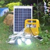 sistema eléctrico solar portable policristalino 18V/10W con la radio de FM