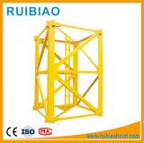 最大負荷が付いている構築機械装置の起重機の上昇のエレベーターのタワークレーン(TC5013) 6価格トンの部の