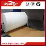 Jumbo бумага сублимации краски отпуска крена 45GSM высокая