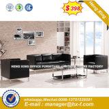 Mobiliário moderno Combinação de couro Office sofá (HX-SN8077)