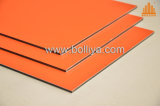 Revêtement nano de mur d'ACP d'enduit du PE PVDF Kynar 500 de polyester d'Akzonobel Feve PPG Becker