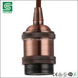 Socket ligero de Edison del sostenedor de la lámpara de la vendimia de Colshine para la luz pendiente