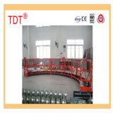 Plate-forme/berceau/gondole suspendus par cheminée de Tdt