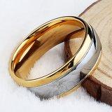 De in het groot Ring van het Wolfram van de Juwelen van het Wolfram van Cramics van de Manier Gouden Man