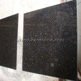 Alta calidad Negro/pulido de granito de la GALAXIA para baldosas/pasos