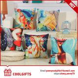 cassa di tela del cuscino del cotone quadrato geometrico di stampa di 45cm*45cm Digtal