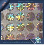 Стикер Hologram матрицы МНОГОТОЧИЯ цвета радуги