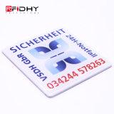 Collant classique de tag RFID de l'étiquette MIFARE de l'IDENTIFICATION RF NFC de la proximité 13.56MHz