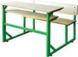 의자 (SF-46D)를 가진 학교 가구 두 배 책상
