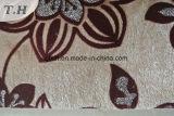 2016 Impreso de flocado tejido sofás y muebles