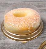 Los envases de plástico de panadería pastel Caja con tapa transparente 25cm.