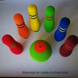 Schaumgummi-Bowlingspiel-Stiftspielzeug des Fabrik-Preis-buntes NBR für Kinder