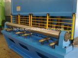 Máquina hidráulica da guilhotina da máquina/placa de estaca da tesoura do feixe do balanço (QC12Y-32*2500)