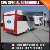 Caravana móvil del acoplado del recorrido del acoplado del alimento de la venta caliente para el precio barato