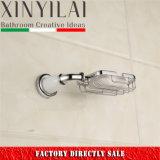 Nuevo sostenedor del jabón del alambre de la placa del cromo del diseño del cuarto de baño 2017