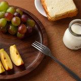 16 duim om Dienblad van het Fruit van de Okkernoot van de Vorm het Gemakkelijke Schoonmakende Houten