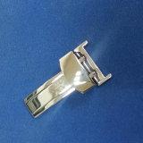 нержавеющая сталь 12 14 16 18 20 22 24mm отполировала почищенный щеткой Sandblasted фермуар раскрытия замка Flip