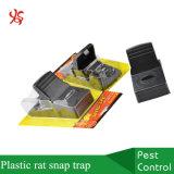 Ловушка кнопки крысы задвижки грызуна убийцы мыши черного кота быстро убийства большая пластичная