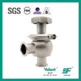 Tipo manuale valvola di regolazione della sfera dell'acciaio inossidabile di pressione bassa