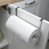 Cremalheira do organizador do gancho do suporte de toalha do rolo do dissipador do gancho de papel da cozinha do aço inoxidável