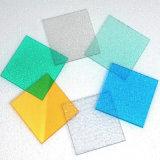 Polycarbonaat In reliëf gemaakt Blad voor de Kleurrijke Selectie van het Dakwerk
