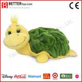 En71 새로운 디자인 박제 동물 견면 벨벳 거북 연약한 거북 장난감