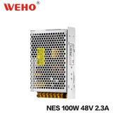 Bloc d'alimentation de commutateur du constructeur 48V 2.3A 100W Nes de Weho