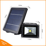 3W穂軸LEDの景色のスポットライトの太陽エネルギーの洪水夜ライト