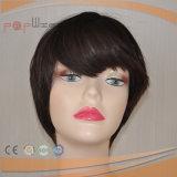 Abrir la peluca barata de las mujeres del color de Brown de las tramas (PPG-l-0643)