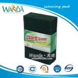 Vert foncé Cuisine Non-Scratch tampon à récurer Nettoyage de la main