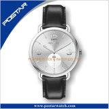 Reloj Sunray del cuarzo del color de la dial de Subdial Elegence de las manos del efecto dos