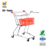 Jp00c Japão Style carrinho de compras com dois cestos de plástico