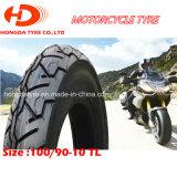 Heißes schlauchloser Reifen des Verkaufs-Motorrad-Roller-Gummireifen-100/90-10