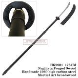 Naginata espada forjada Arte Marcial Espada 175cm HK9801