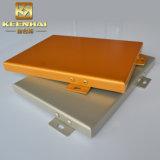 Personalizar el color exterior o interior paneles de aluminio con recubrimiento PVDF