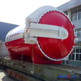 2650X6000mm 강제적인 Convectional 전기 난방 박판으로 만들어진 유리 오토클레이브