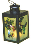 Dibujo de color de vidrio - artesanal JG5014